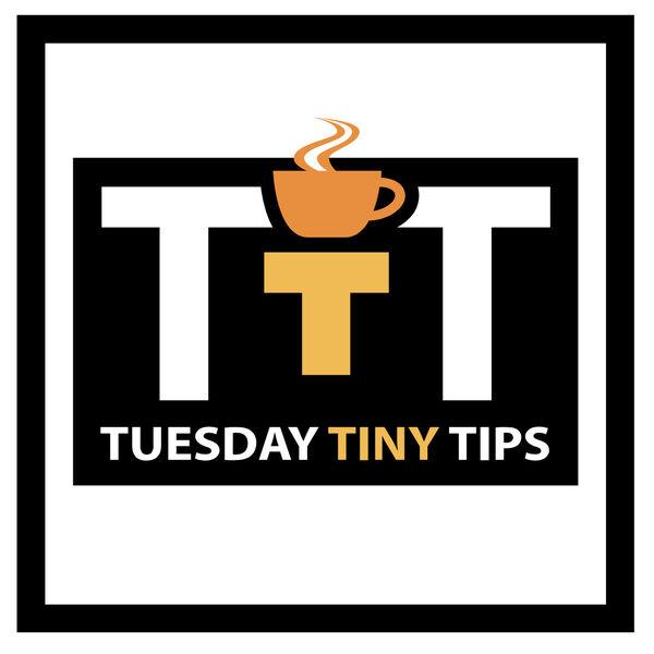 Brett Ray's Tuesday Tiny Tips Podcast Artwork Image