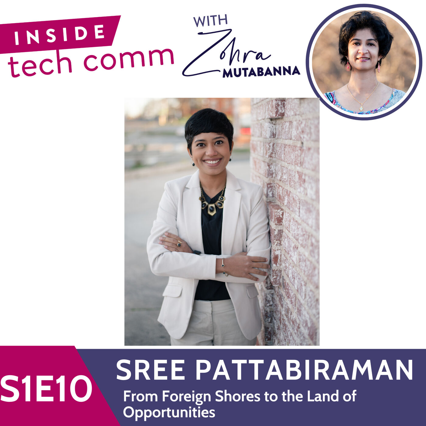 S1E10 From Foreign Shores to the Land of Opportunities with Sree Pattabiraman