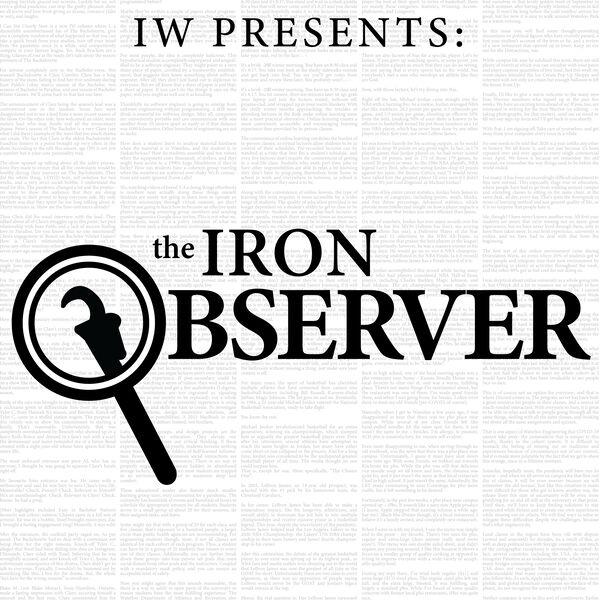 The Iron Observer Podcast Artwork Image