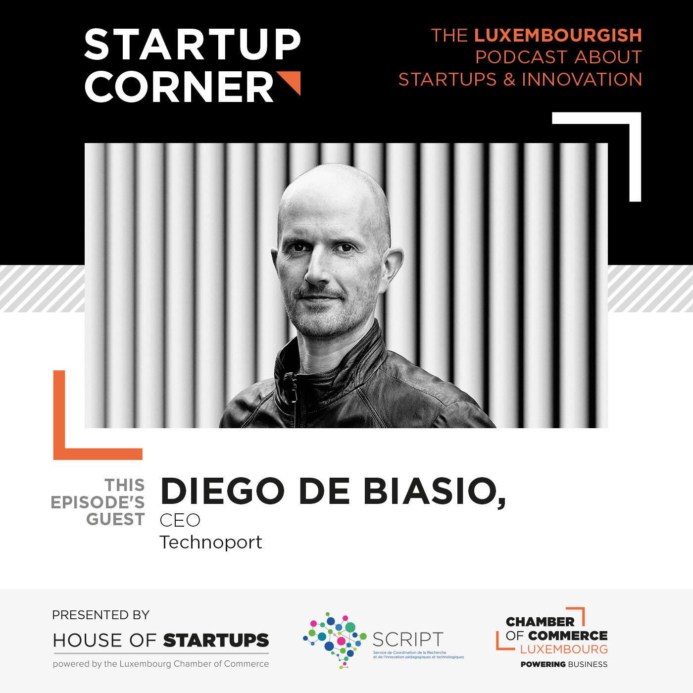 Startup Corner - Diego De Biasio - Technoport