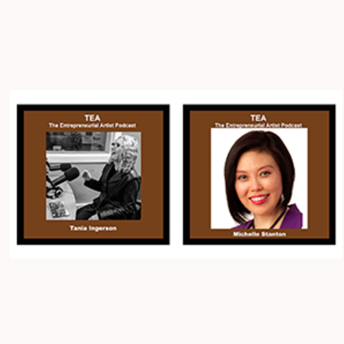 TOPIC: How Golf in the Zone applies to Artists & Creatives! Michelle Zone High & Tania TEA Podcast