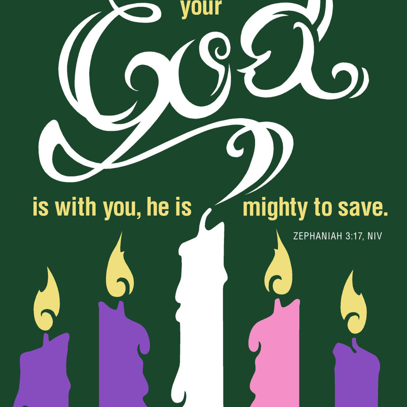 Christmas Day Message - Fifth Candle of Advent - Salvation