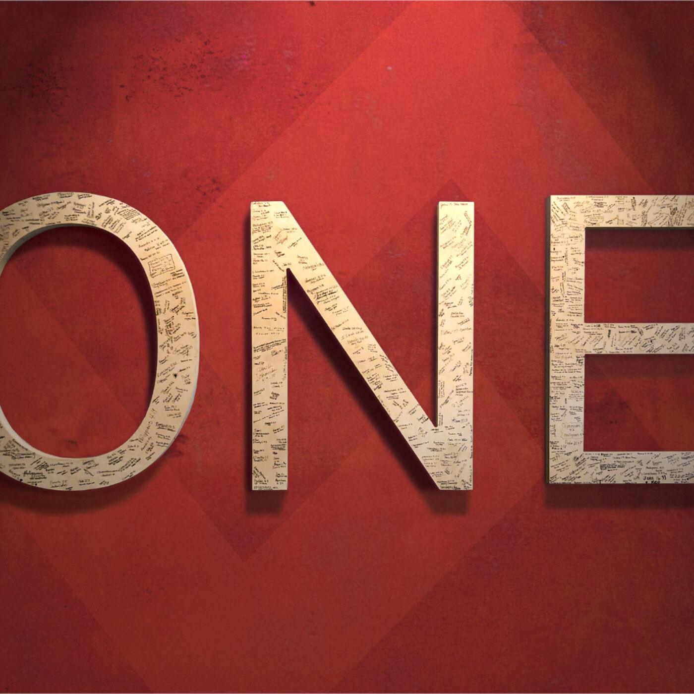 """One"" - Week #1 - Eric F. Koehler"