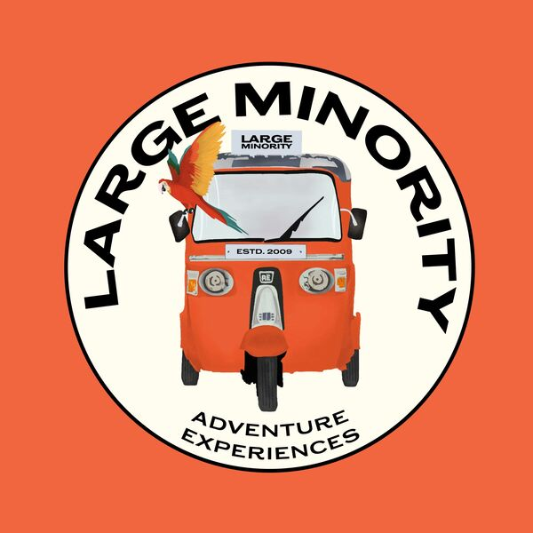 The Large Minority Podcast - Tuk Tuk Adventures and Travel Stories Podcast Artwork Image