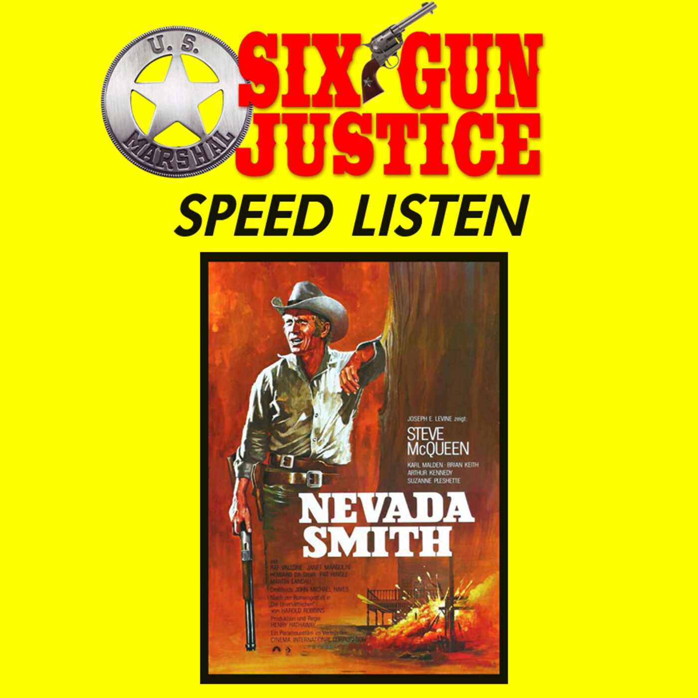SIX-GUN JUSTICE SPEED LISTEN—NEVADA SMITH