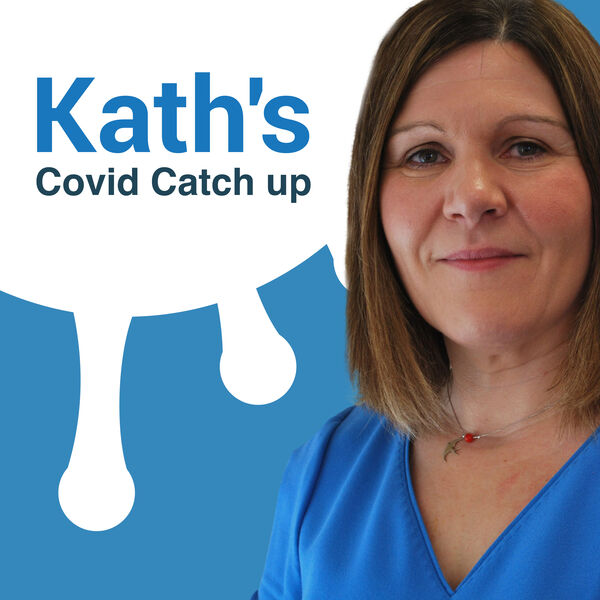Kath's Covid Catch Up Podcast Artwork Image