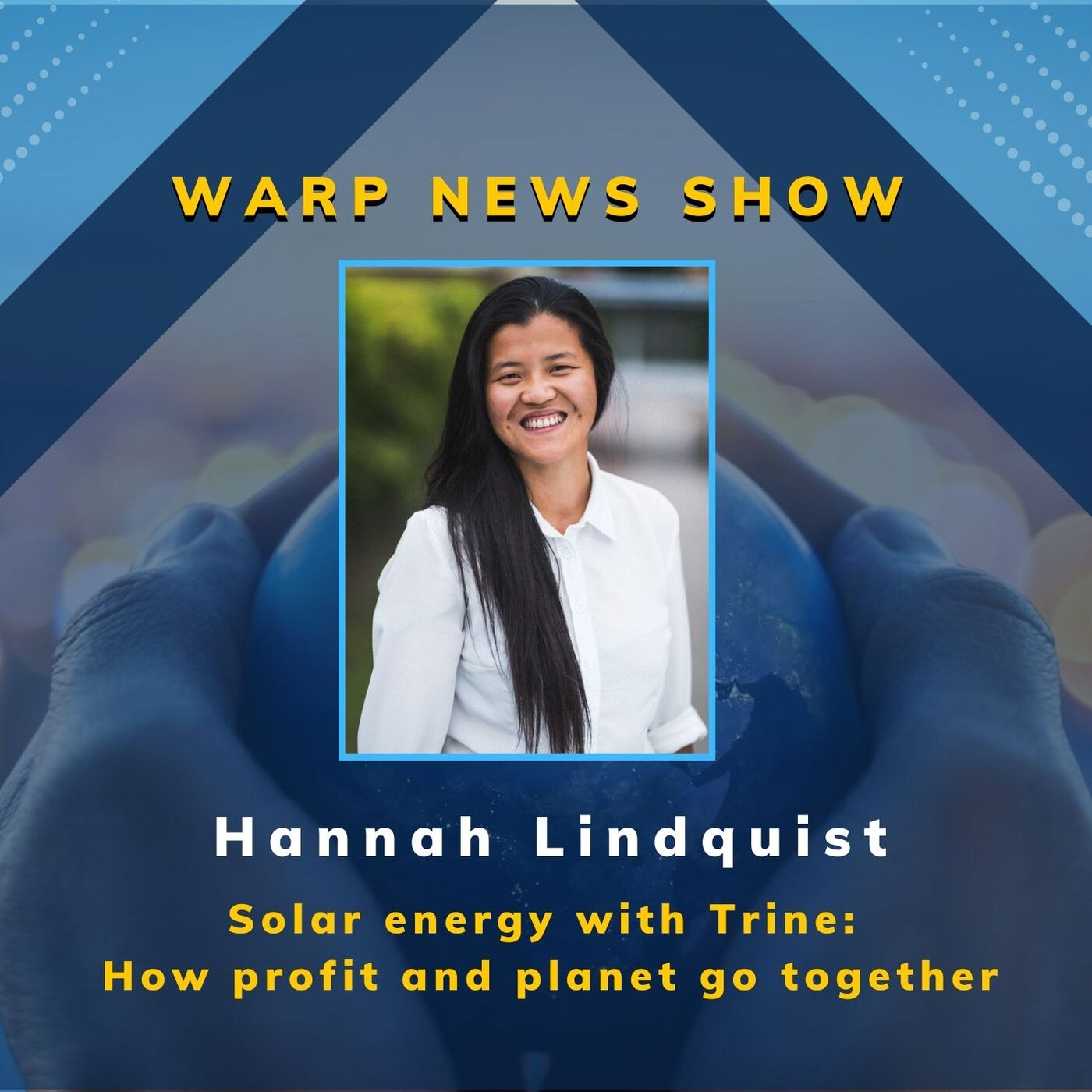 💡 Warp News Show: Trine - Solar energy and how profit and planet go together