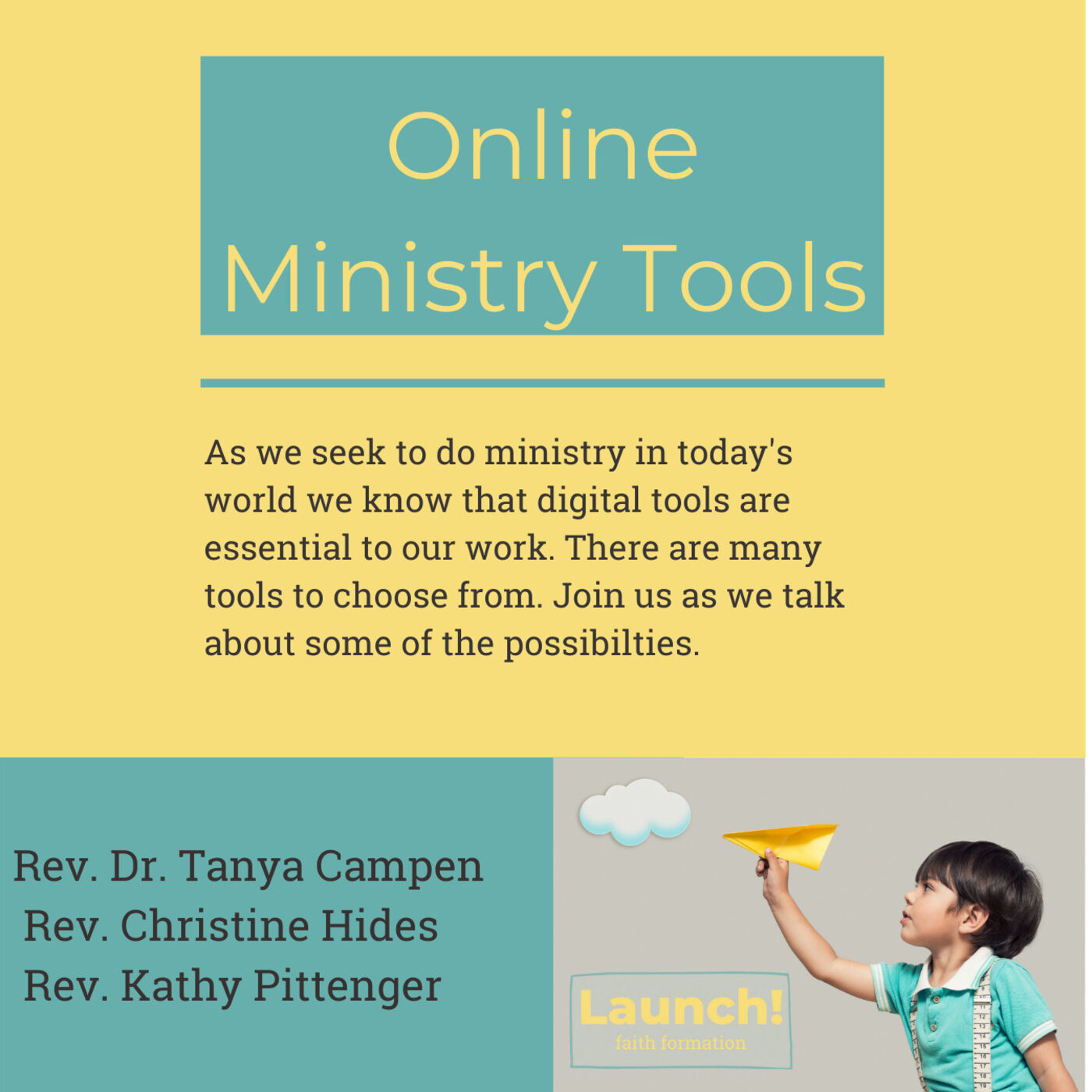 Online Ministry Tools