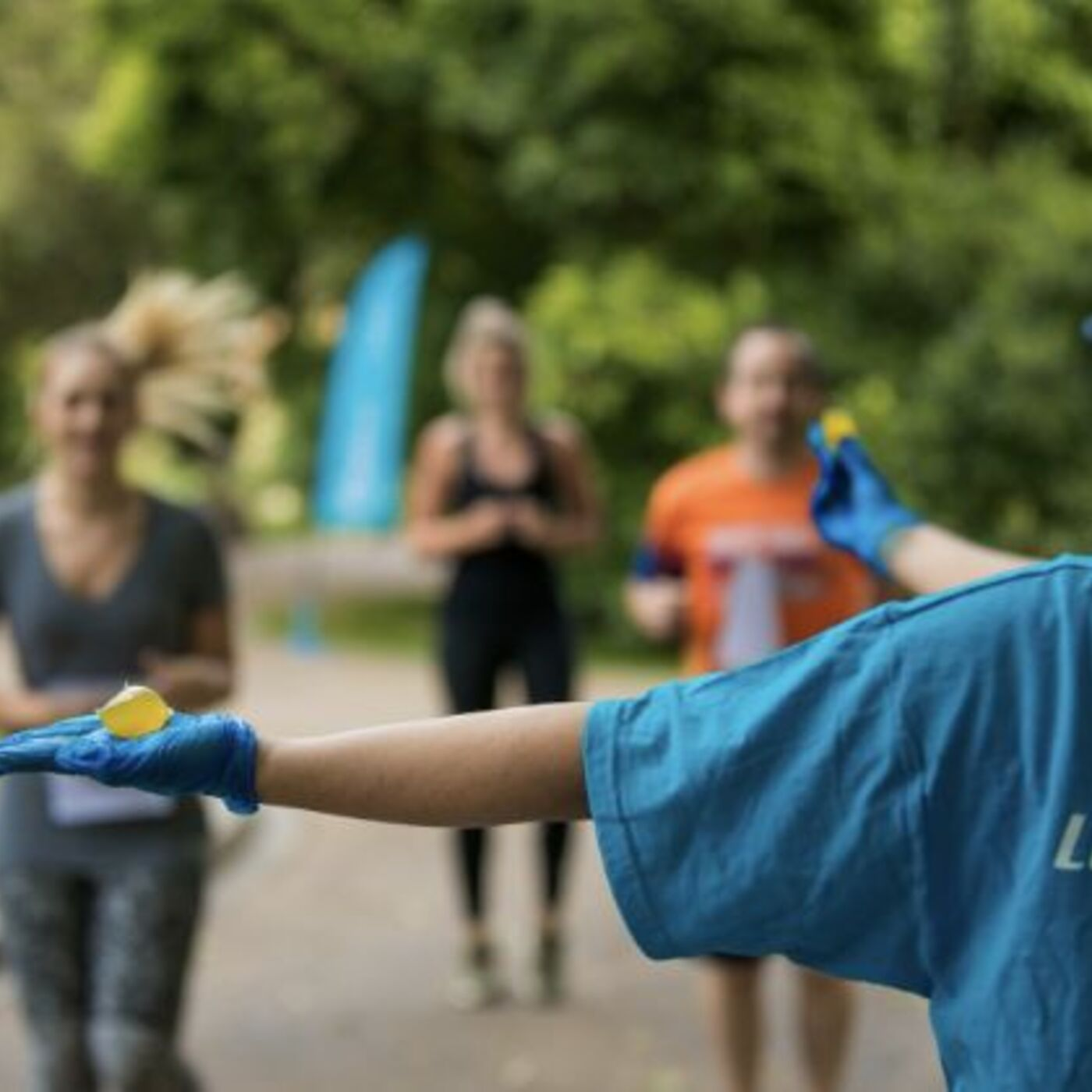 Ooho: Edible Water Bottles for Races