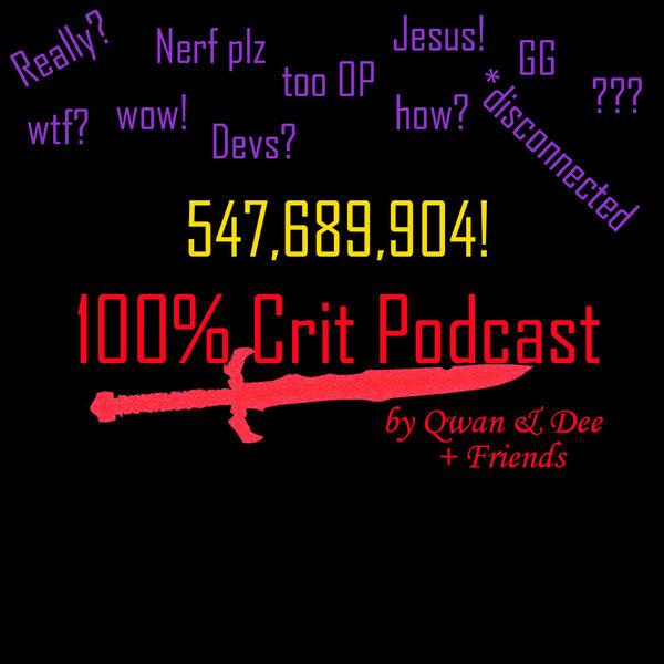 100% Crit Podcast Podcast Artwork Image