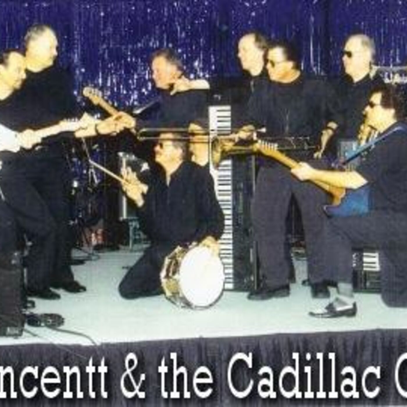 "Season 7 Episode 20- Gene Vincentt Returns! ""Gene Vincentt and The Cadillac Cruisers"", Opening Act For The Stars!"