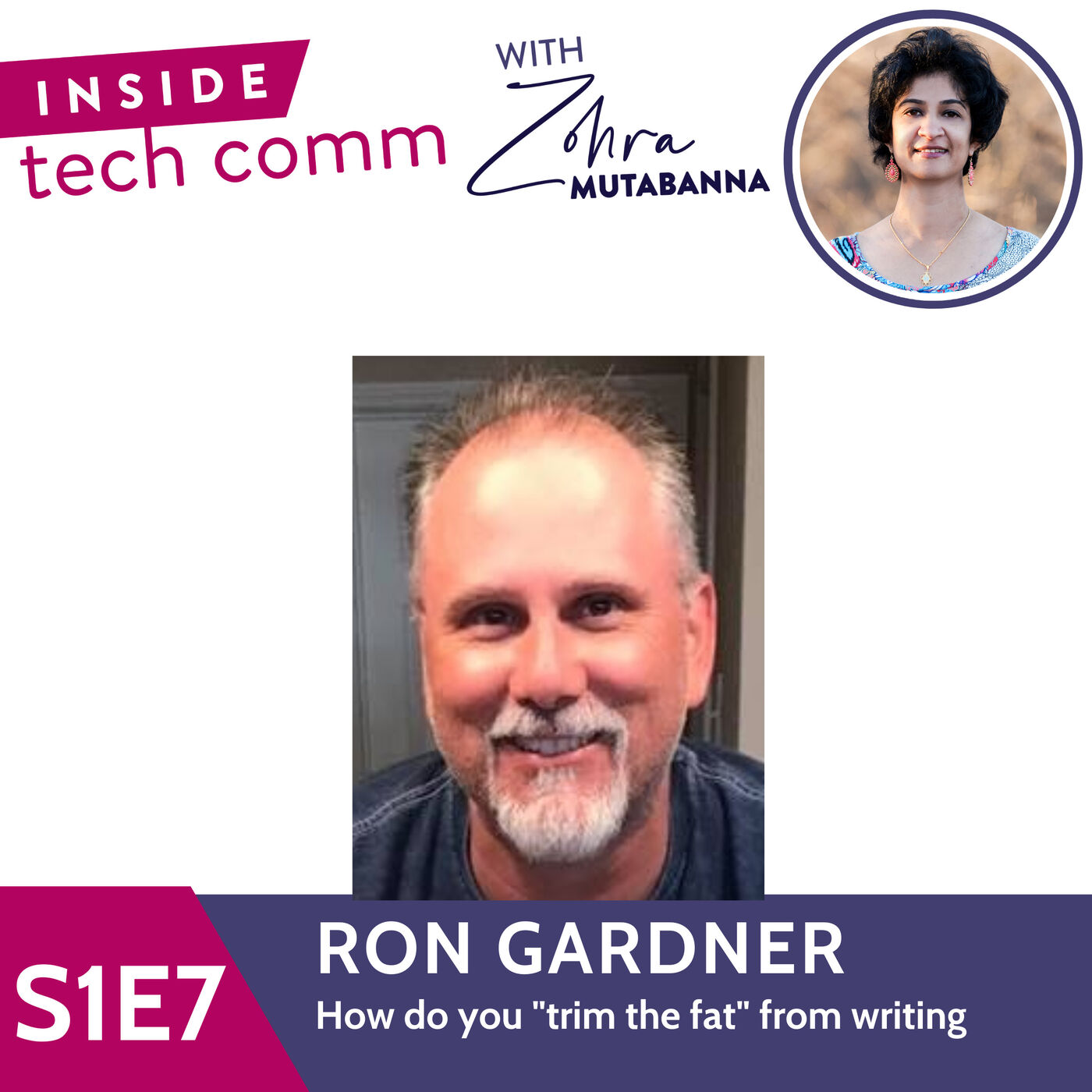 """S1E7  How do you """"trim the fat"""" from writing with Ron Gardner"""