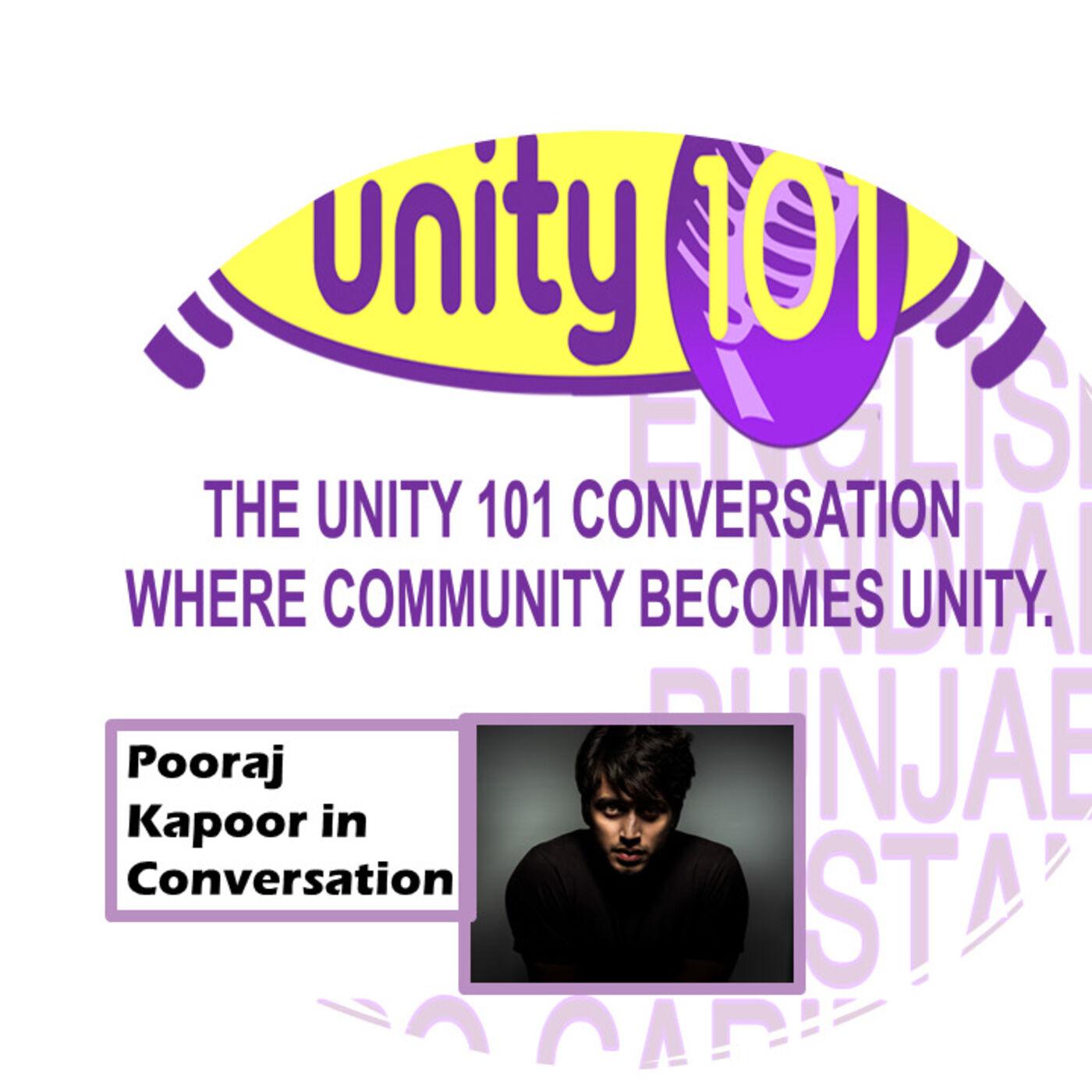 Pooraj Kapoor in Conversation