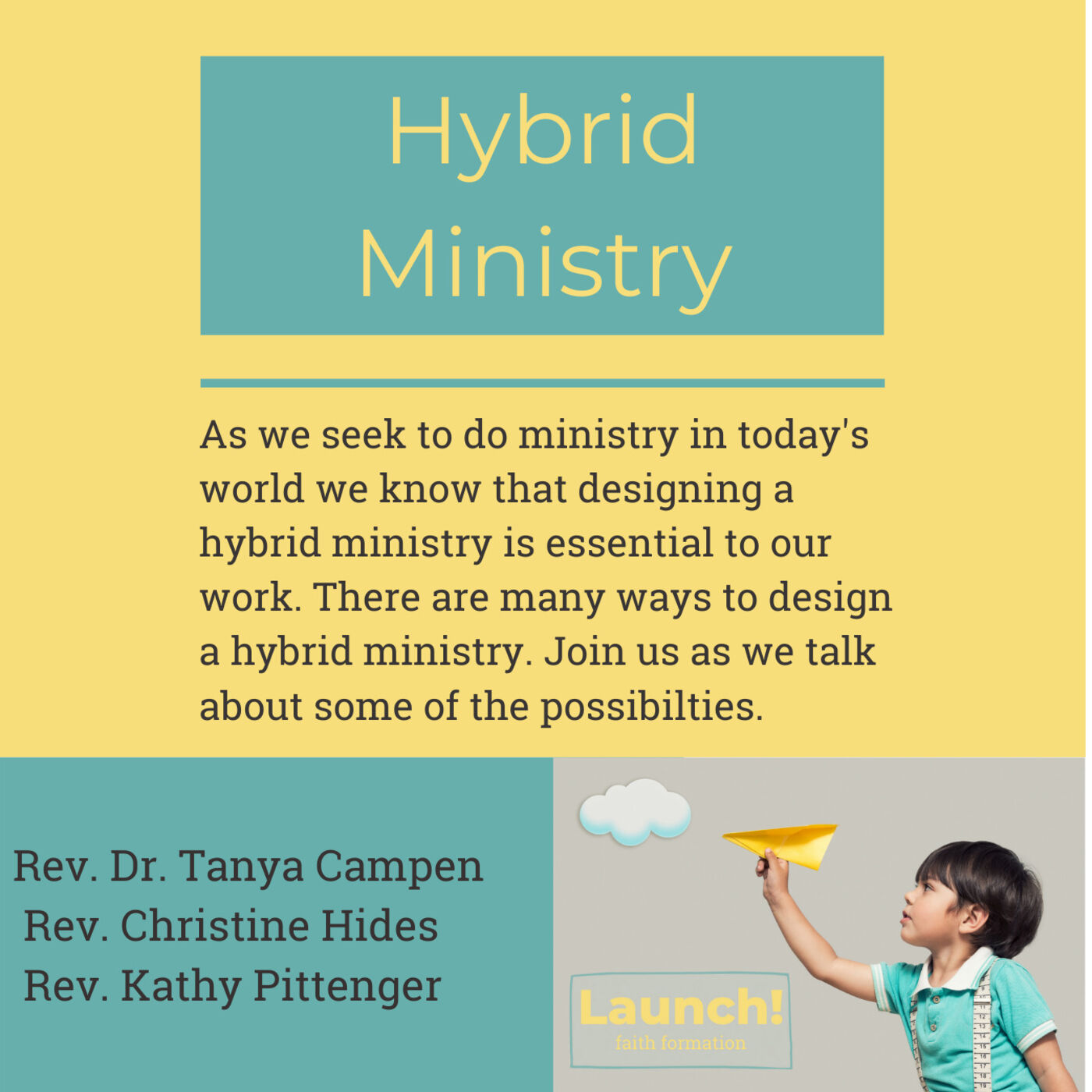 Hybrid Faith Formation
