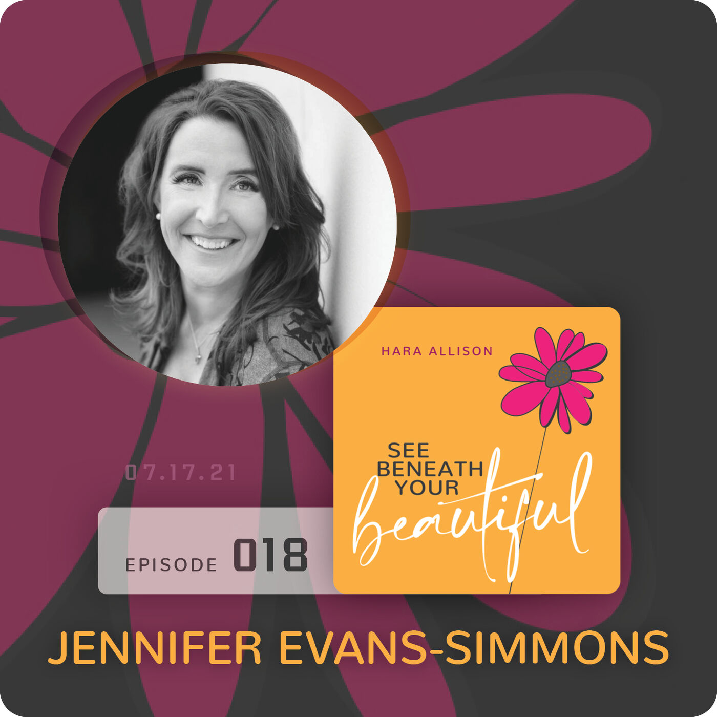 018. Jennifer Evans discusses becoming the Brady bunch, marrying a so nice bad boy, being an alpha and an introvert, bird watching, gardening, watching her hustle, living the dream with a fairy tale ending