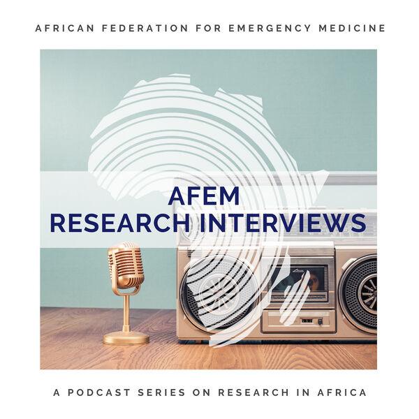 AFEM Research Interviews Podcast Artwork Image