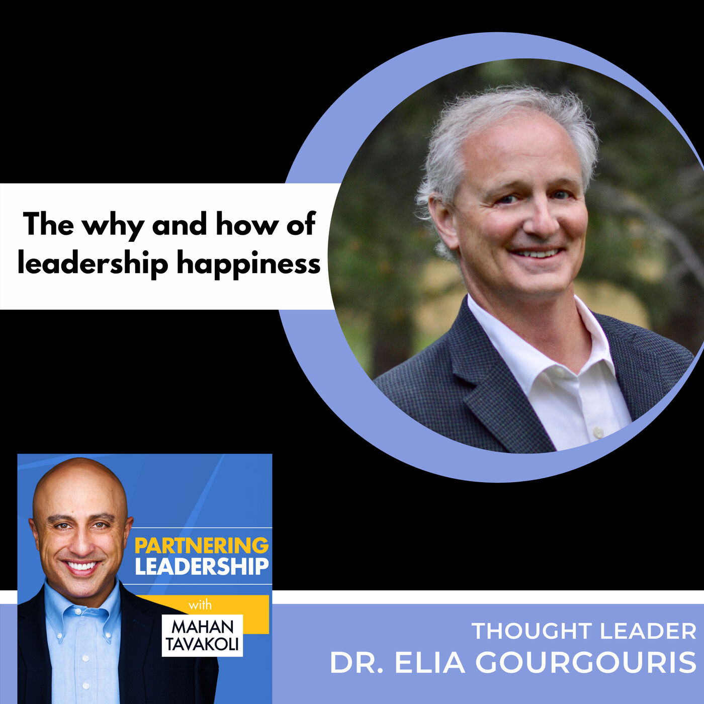 The why and how of leadership happiness with Dr. Elia Gourgouris | Thought leader