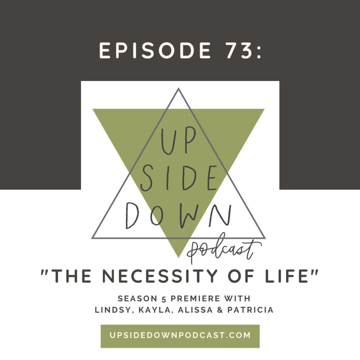 Season 5 | Episode 73: The Necessity of Life: What does it mean to be for life in 2020?