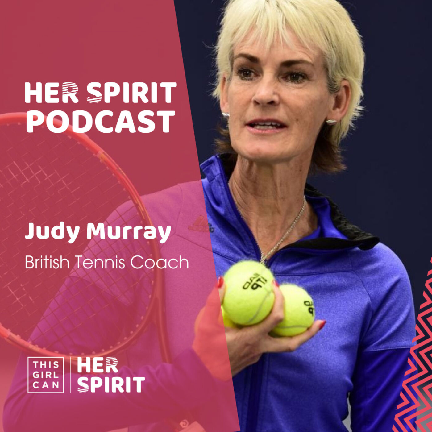 Judy Murray OBE talks to Annie and Louise about life on the tennis circuit, being the mum of Andy and Jamie. And her work as a tennis coach and getting the best out of everyone she works with.