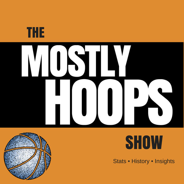 The Mostly Hoops Show Podcast Artwork Image