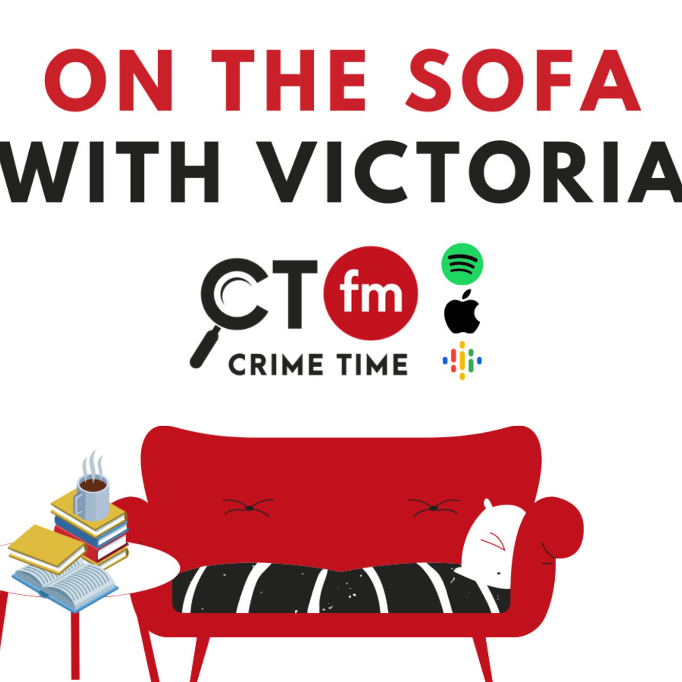 SARAH PINBOROUGH and ALEX NORTH On The Sofa With Victoria CTFM