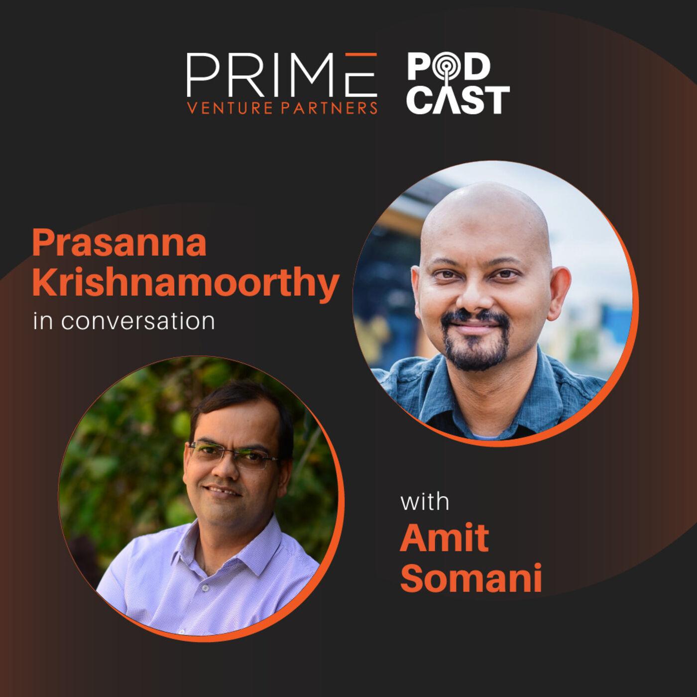 #45 Building Value SaaS Startups with Prasanna Krishnamoorthy Partner Upekkha Catalyst