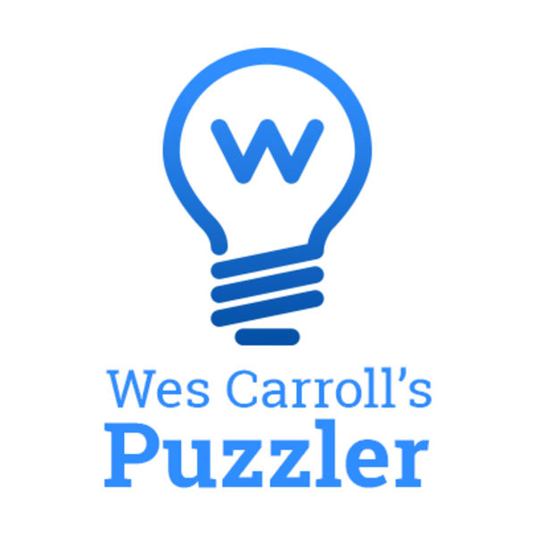 Wes Carroll's Puzzler Podcast Artwork Image