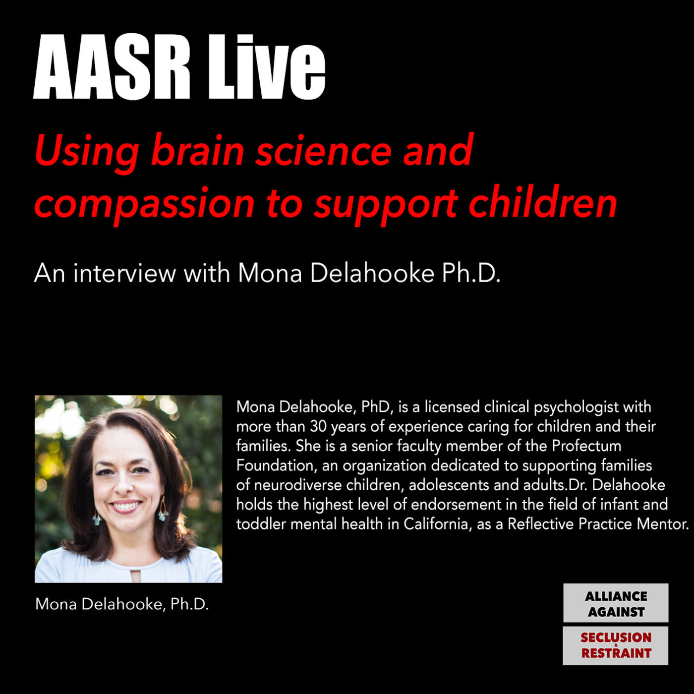 Using Brain Science & Compassion to support children: An interview with Mona Delahooke Ph.D.