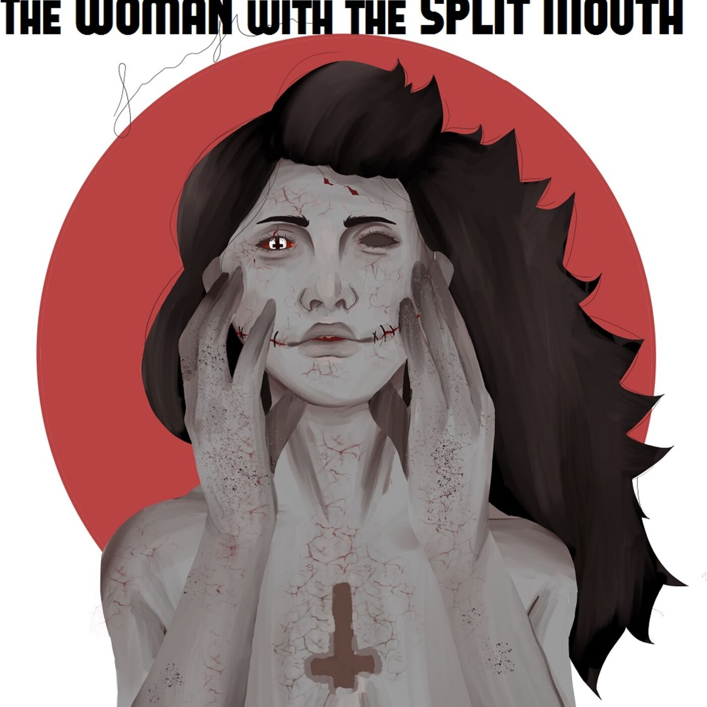 Woman with the Split Mouth