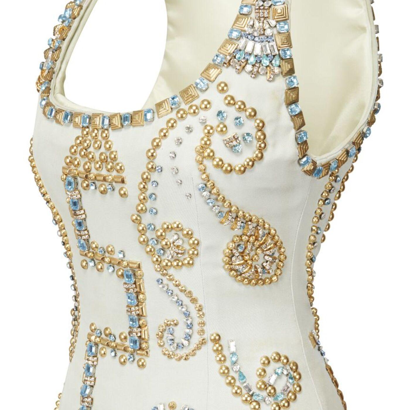 The Princess Diana Museum - Mona,  Versace Dress
