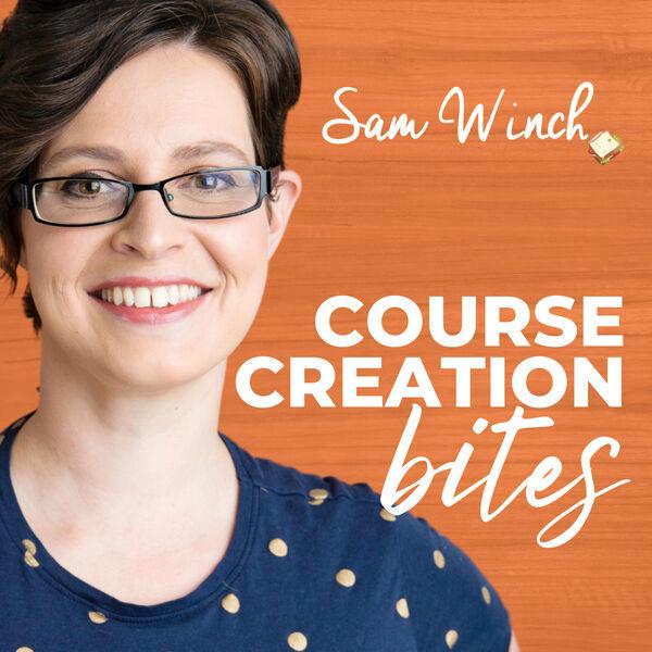 Course Creation Bites Podcast Artwork Image