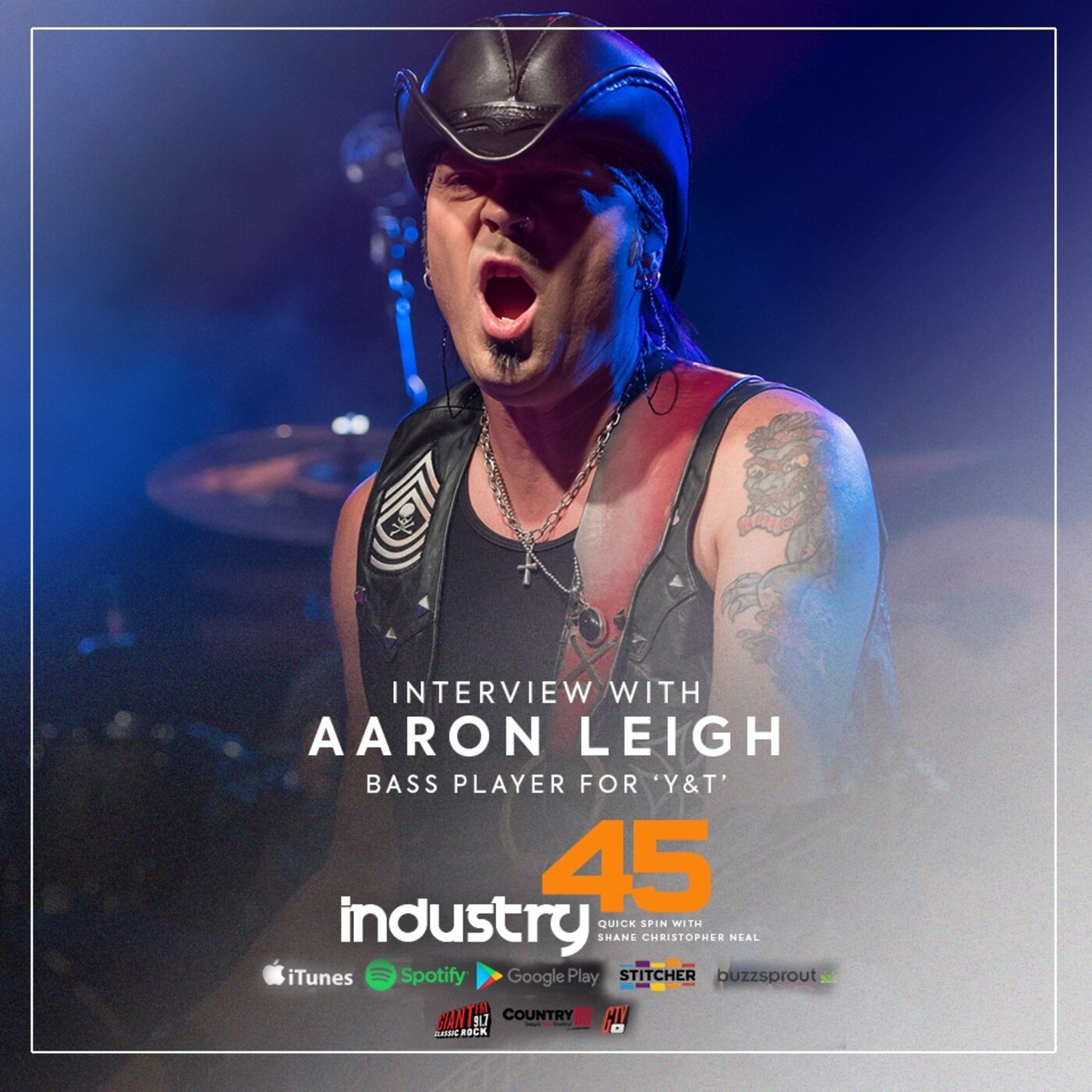 Industry 45 Quick Spin feat. Aaron Leigh (Bass Player Y&T)    FULL