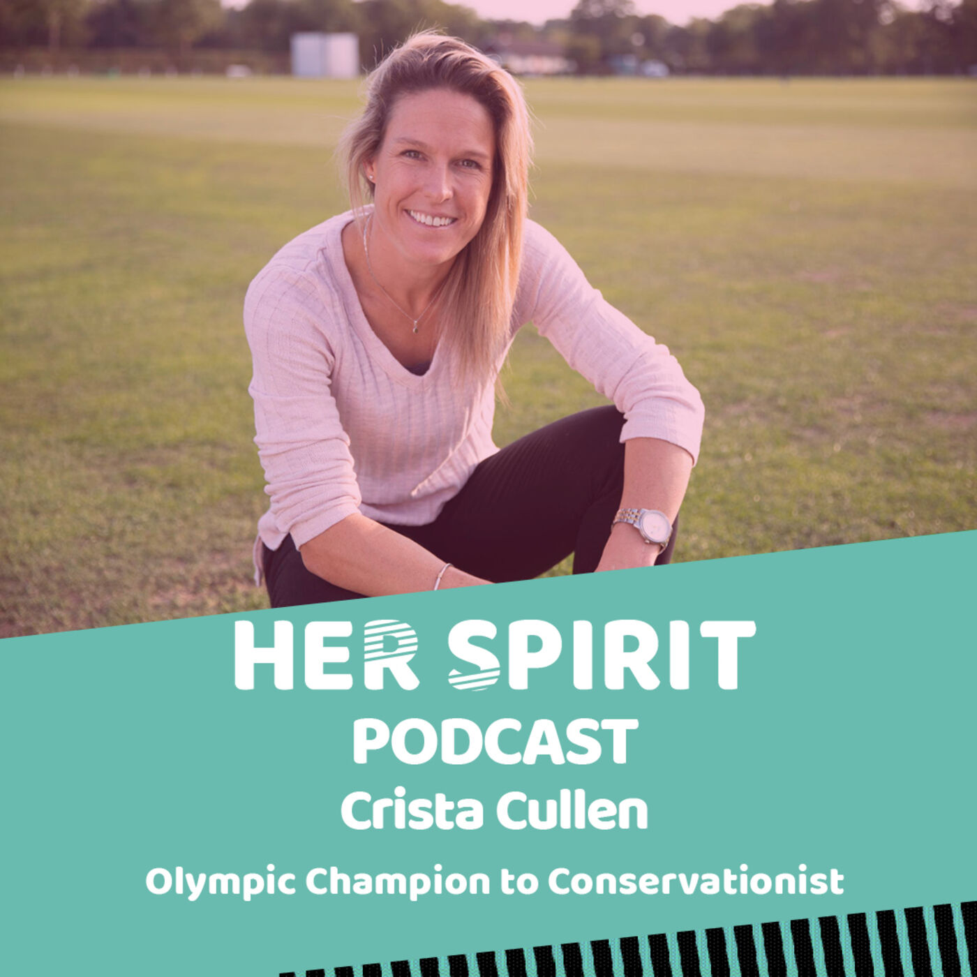 Olympic gold medalist and conservationist Crista Cullen talks to Annie and Louise about life growing up in the UK, her hockey journey and winning gold in Rio and her love of Africa