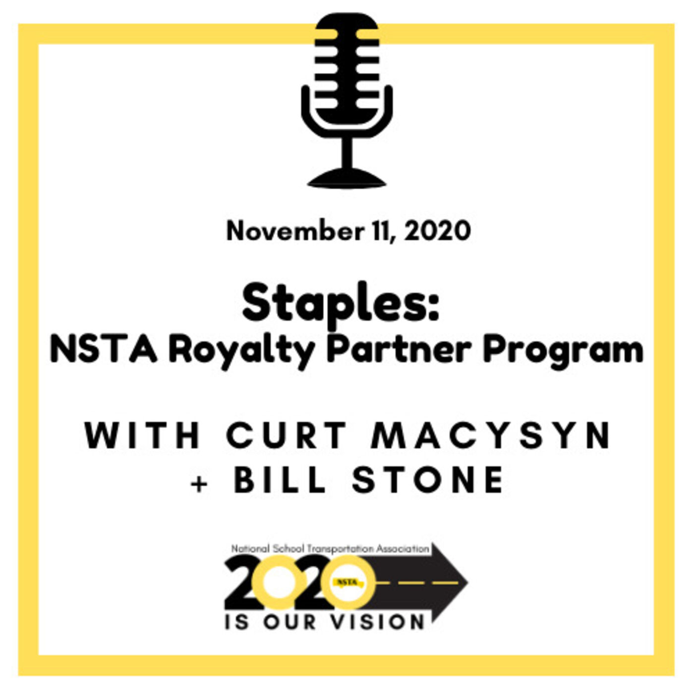 Staples-NSTA Royalty Partner Program | Bill Stone, Business Development Executive