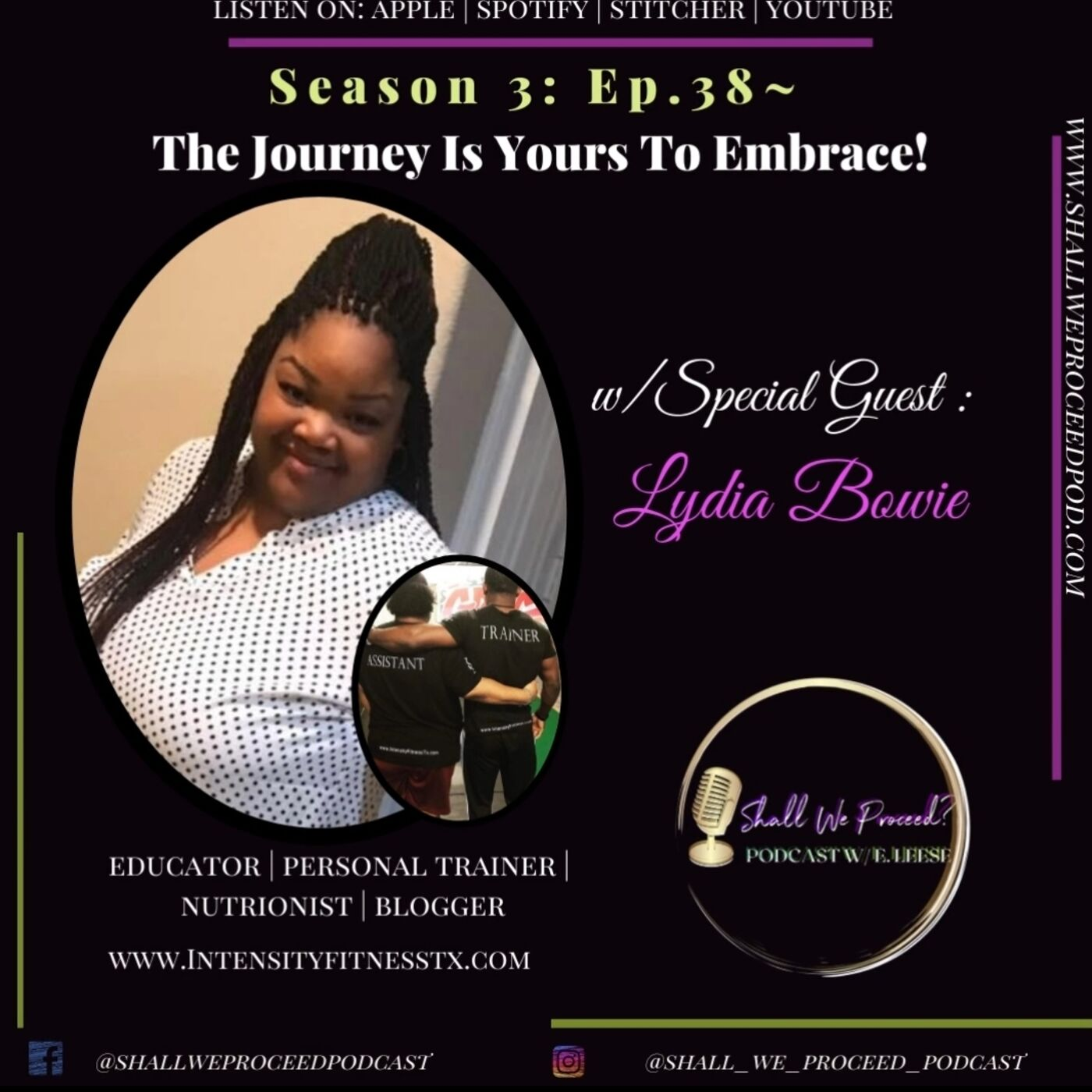 S3 Ep.38~The Journey Is Yours To Embrace w/ Lydia Bowie