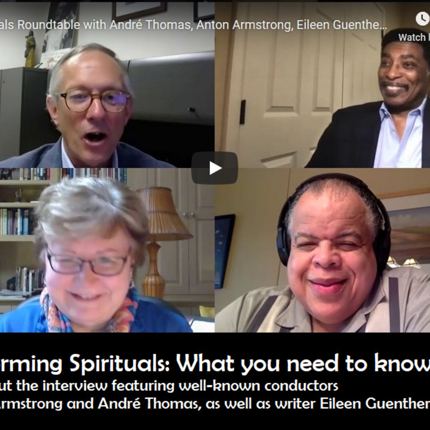 Performing Spirituals: What you need to know