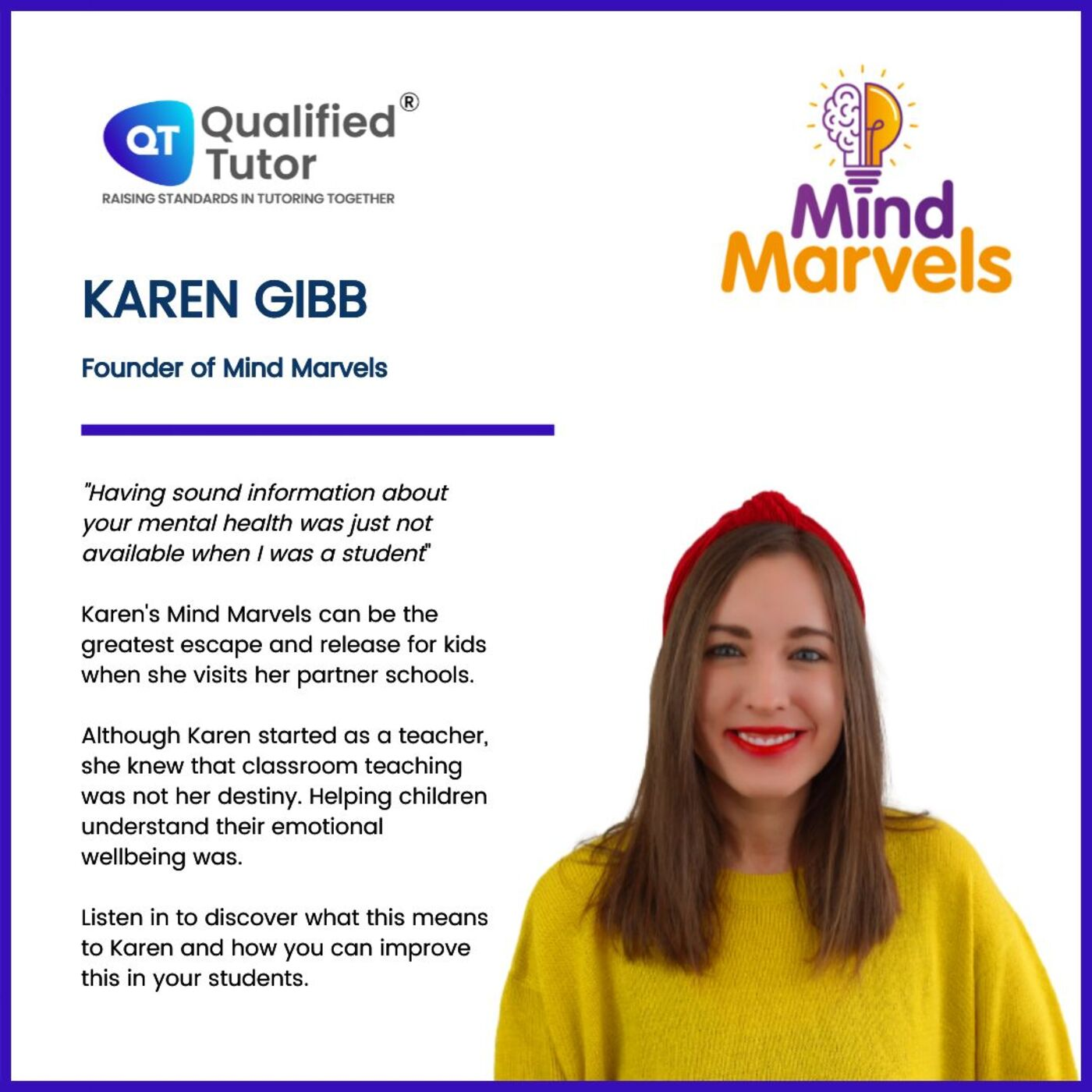 Exploring the Marvels of Emotional Wellbeing & Resilience in Children, with Karen Gibb