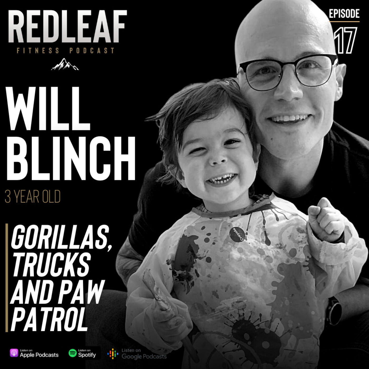 Ep.17 | William Blinch on Gorillas, Exercise and Paw patrol