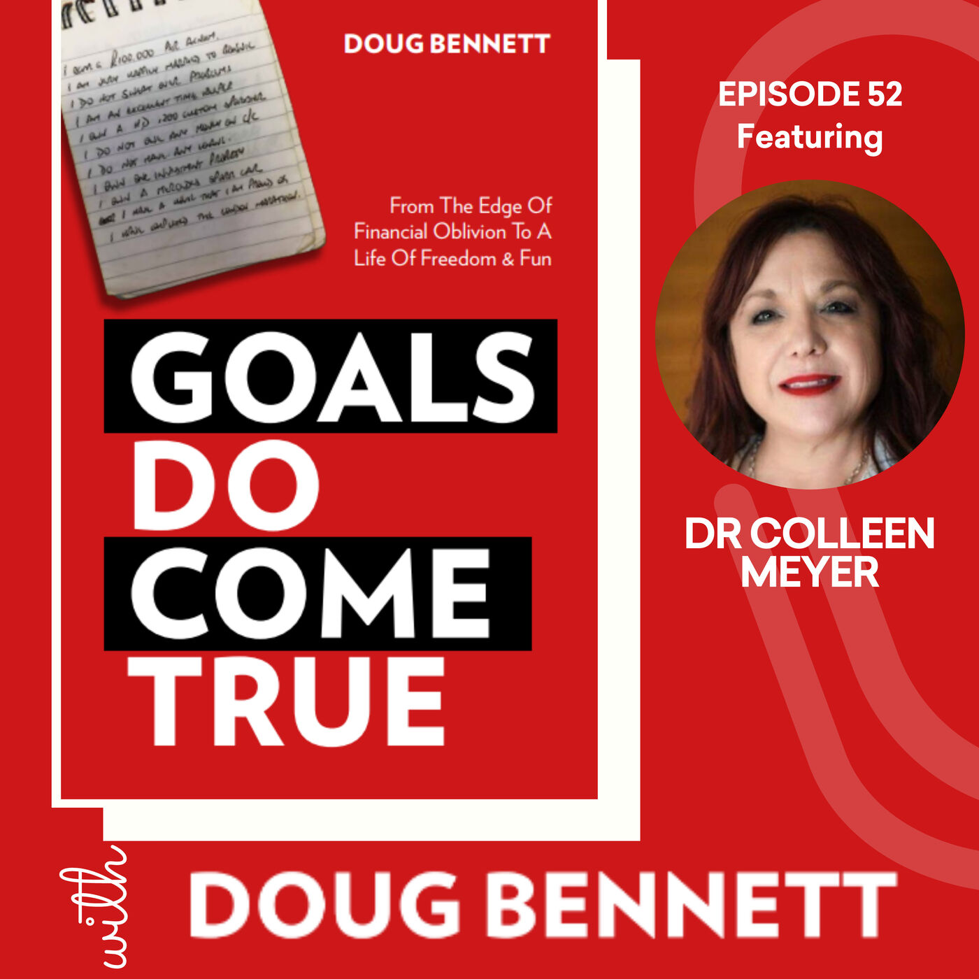 EP 52: What Are The Steps Needed To Help Achieve Your Goals With Dr Colleen Meyer