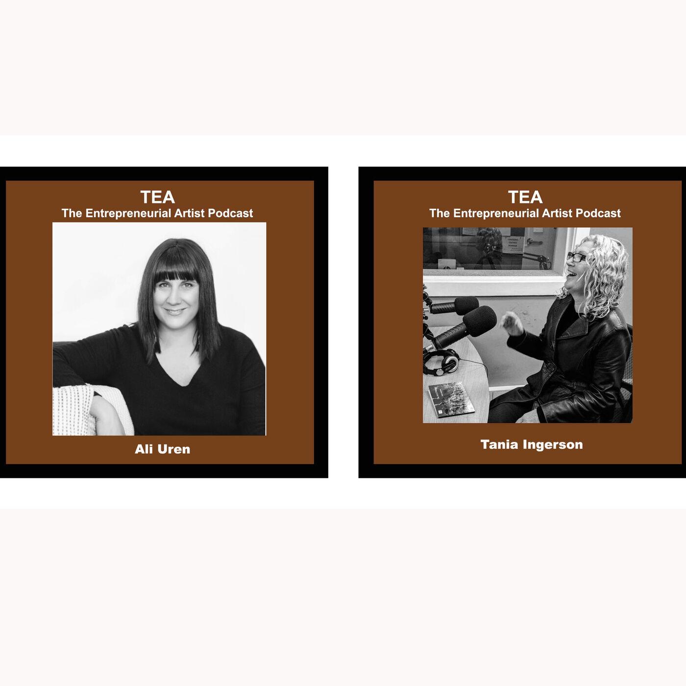 TOPIC: SOCIAL MEDIA Part B - Tania/TEA Podcaster & Ali/Kiikstart talk Business for Creatives