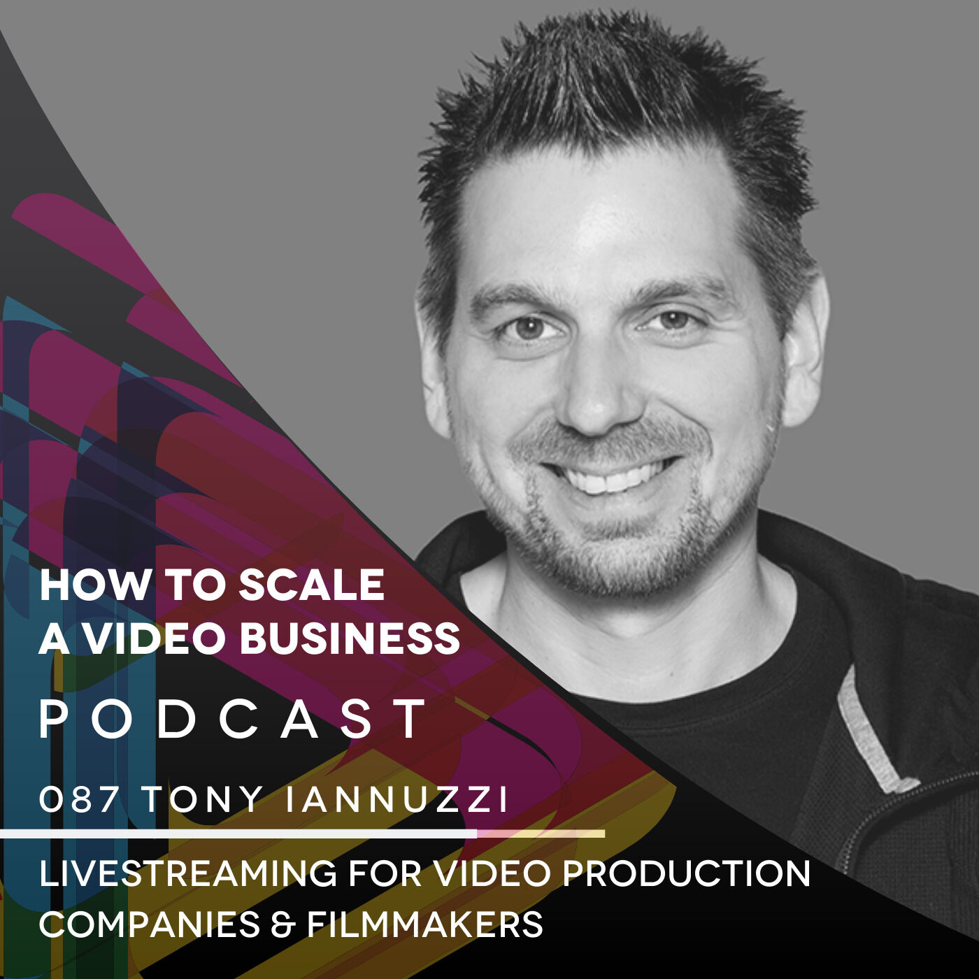 Live-Streaming for Video Production Companies & Filmmakers with Tony Iannuzzi EP#087