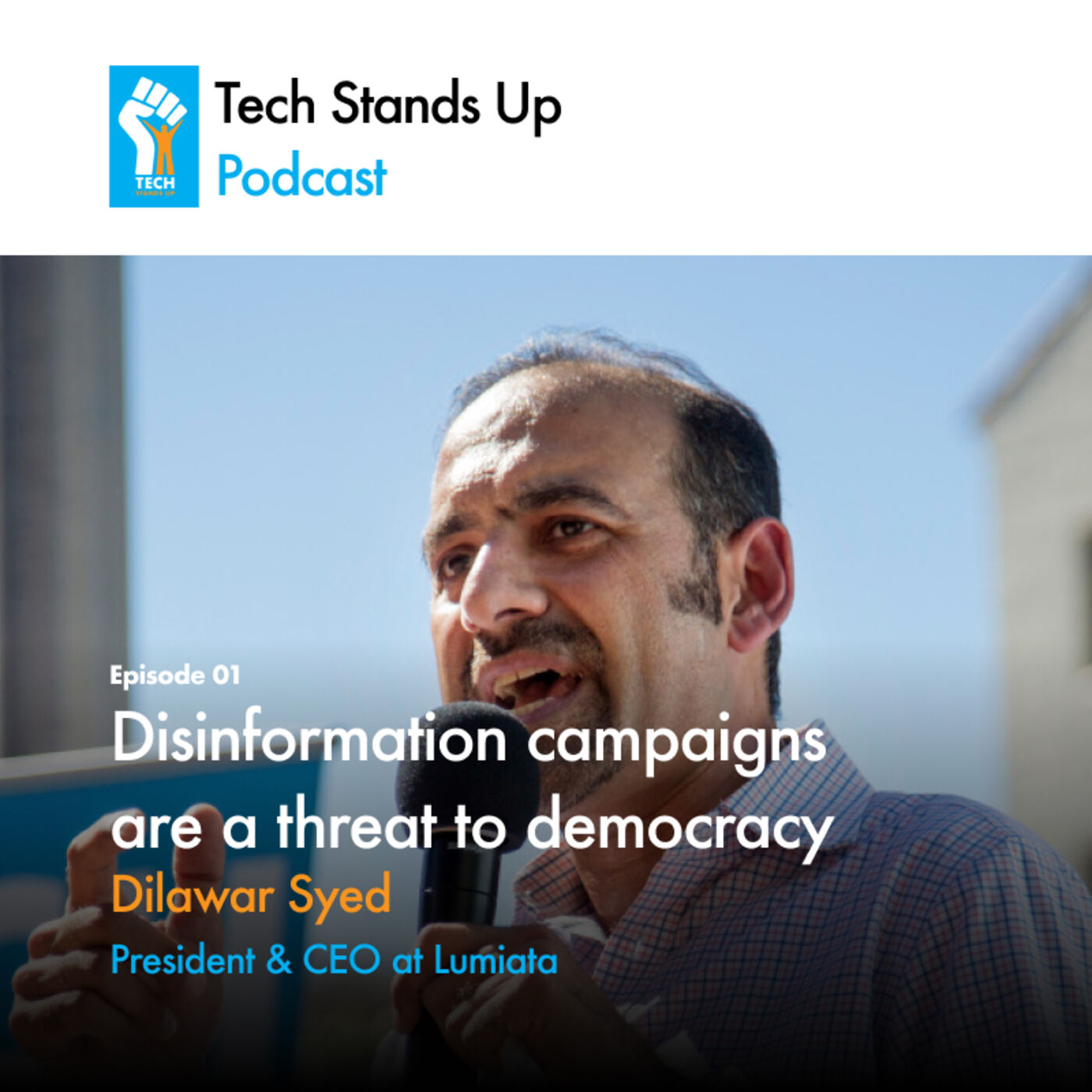 Dilawar Syed: AI and COVID, helping small businesses, disinformation campaigns