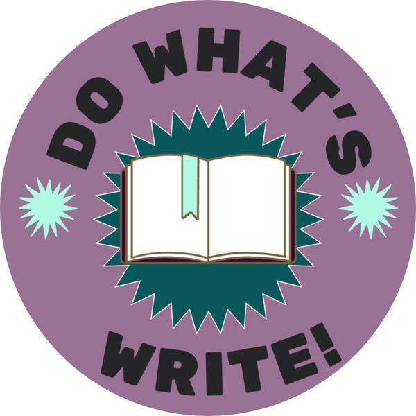 Do What's Write  Podcast Artwork Image