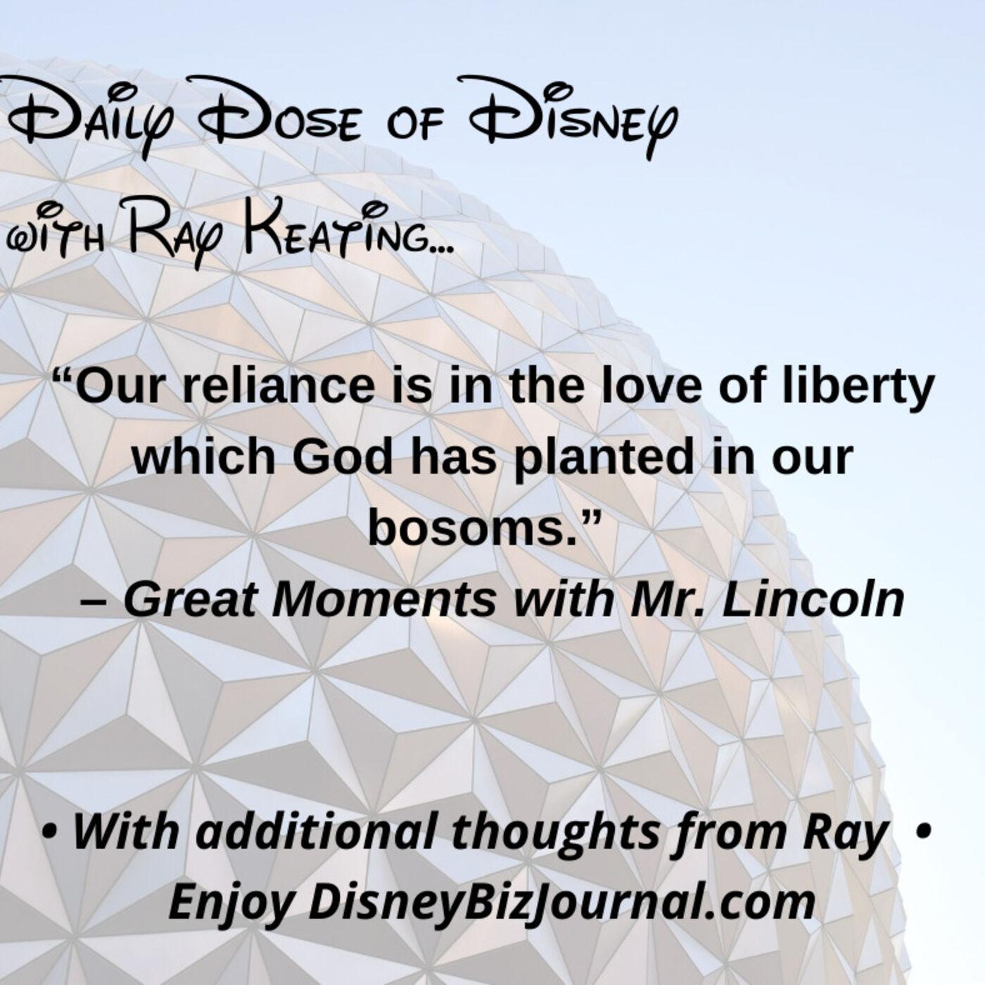Episode #51: Walt Disney, President Lincoln and Faith