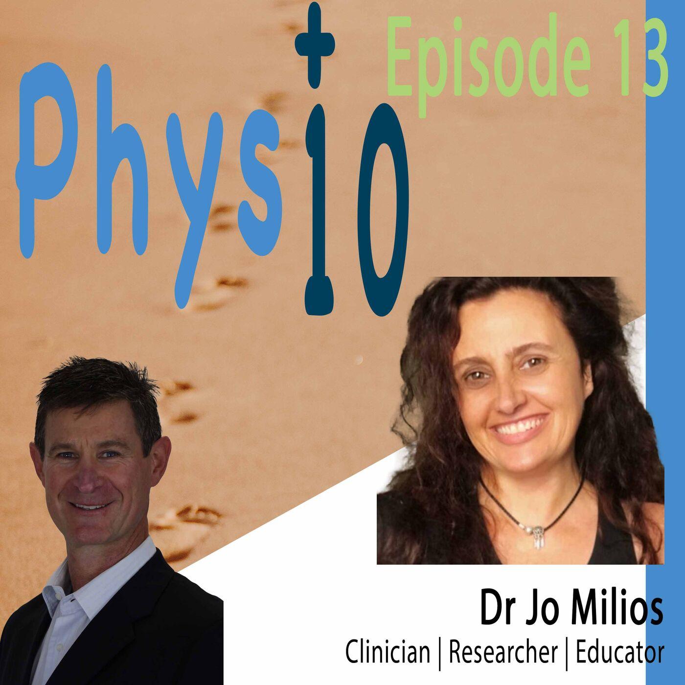 Dr Jo Milios Researcher | Clinician | Educator