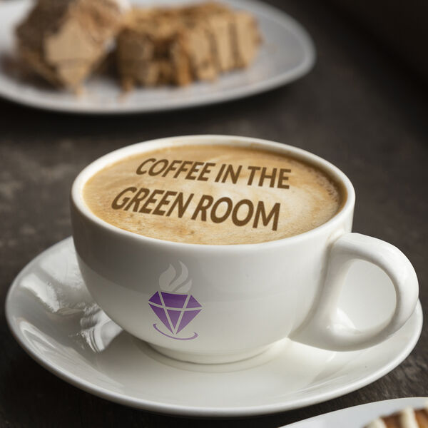 Coffee In the Green Room Podcast Artwork Image