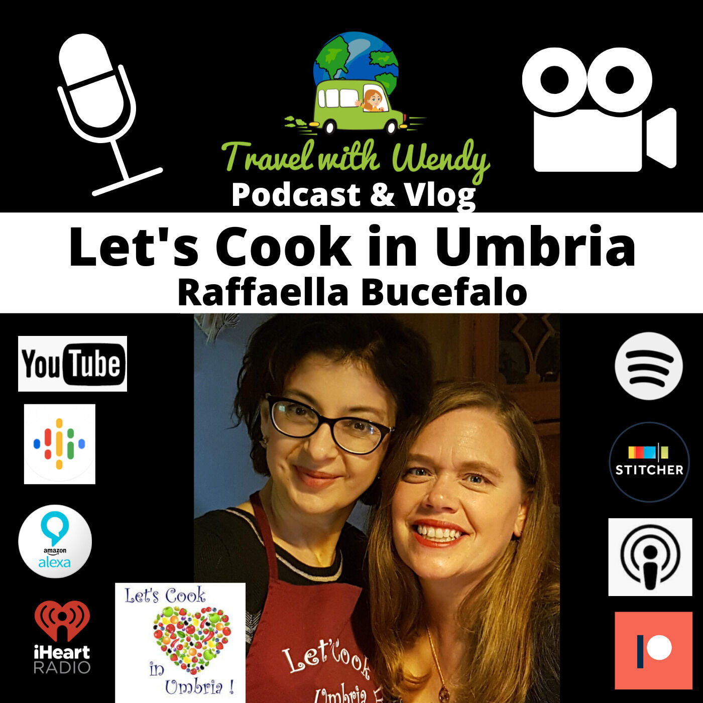 #17 Let's Cook in Umbria - Raffaella Bucefalo - Italian Cooking at HOME!