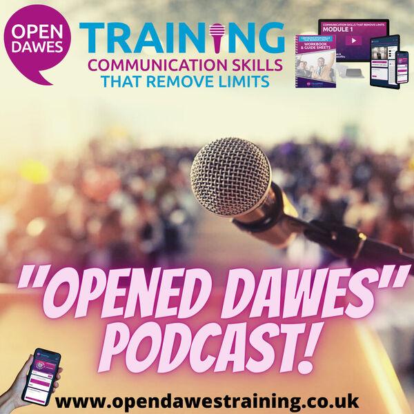 """Opened Dawes"" Podcast Podcast Artwork Image"