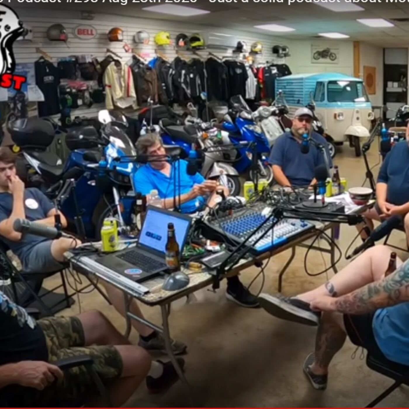 ClevelandMoto Podcast 293 - Motorcycles, Scooters, actual technical content!