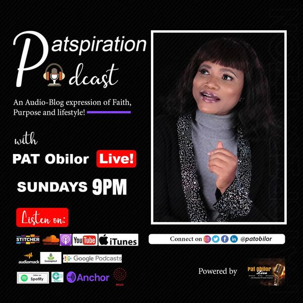 Patspiration Podcast Podcast Artwork Image